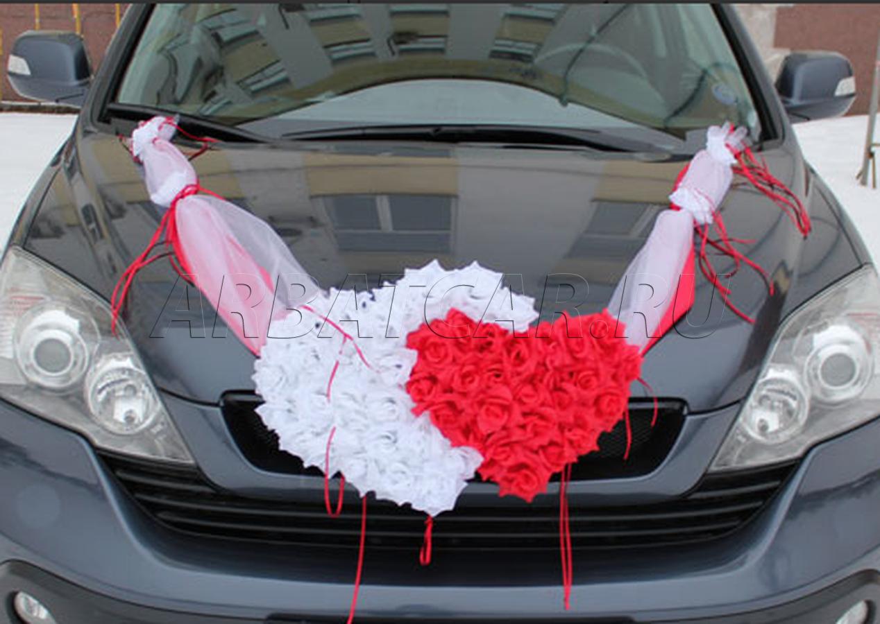 Как сделать красивую ленту на машину